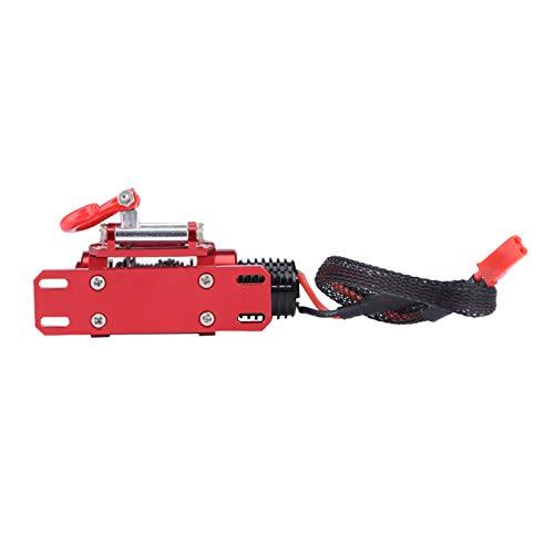 DAUERHAFT Cable de cabrestante de Nylon Rojo eléctrico ecológico para TRX4 KM2