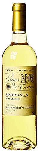 Château du Tertre Bordeaux blanc moelleux AOC Sauvignon 2015/2016 Lieblich (1 x 0.75 l)