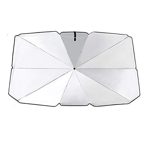ZDXNNX Parabrisas del Coche Sombras, Soles Protección UV Sombrilla Sombrilla Ciclos de Verano al Aire Libre Personal para Accesorios de Coches,145 * 79cm