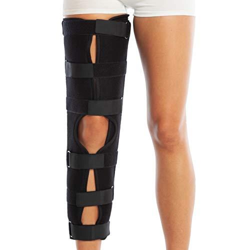 Rodillera inmovilizadora de rodilla. Férula para antes y después de la cirugía. Inmovilizador post-operatorio. Tres tamaños
