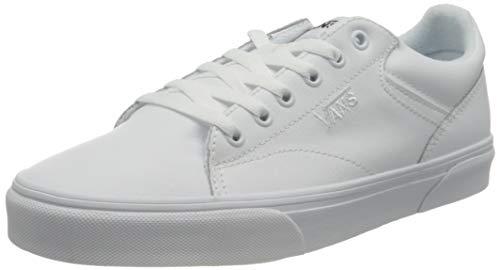 Vans Seldan, Zapatillas Hombre, Tumble White/White, 43 EU