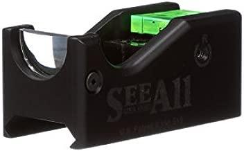 SeeAll The Original Open Sight | Gen-1 Gun Sights | Compatible for Rifle, Shotgun, Pistol | No Battery Required (Standard, Crosshair)