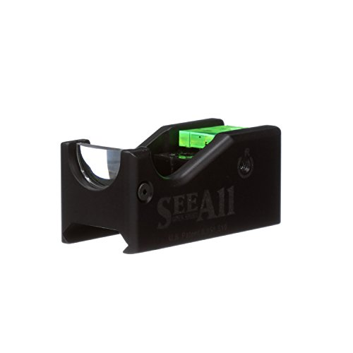 The Original See All Open Sight | Gen-1 Gun Sights | Compatible for Rifle, Shotgun, Pistol | No Battery Required (Standard, Crosshair)
