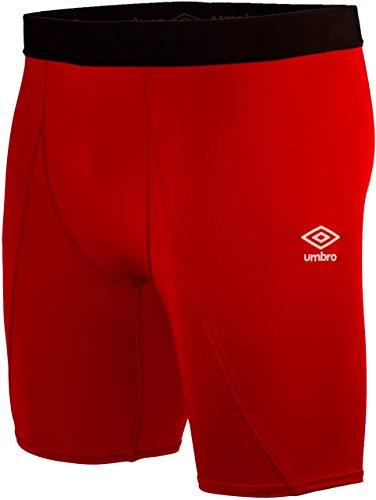 Umbro Core Power Short Conjuntos Deportivos, Rojo (Vermillion 7RA), Medium (Tamaño del Fabricante:M) para Hombre
