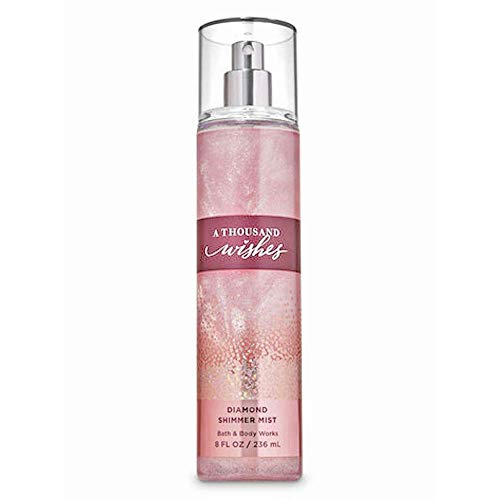 Bath & Body Works A Thousand Wishes Diamond Shimmer Mist infused with real Diamond Dust 8 fl oz / 236 mL