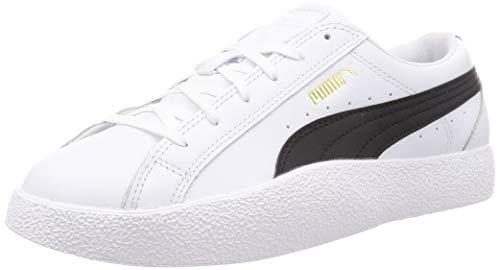 PUMA Love Wn S, Zapatillas Mujer, Blanco White Negro Black, 36 EU