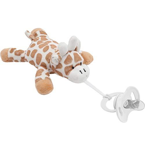 Minha Girafinha Com Prendedor De Chupeta – Buba, Buba, Colorido
