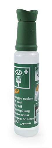 MedX5 250 ml 0,9% NaCl Notfall Augendusche, Augenspülung mit steriler Kochsalzlösung (0.9%), Augenspülmittel, Augenspüllösung, Augenspüler, Augenspülflasche