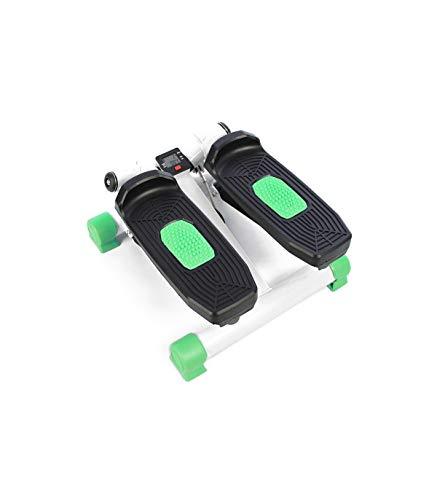 Grupo K-2 Riscko Stepper Cardio Fitness Verde con 2 Bandas de Resistencia y Pantalla LCD.