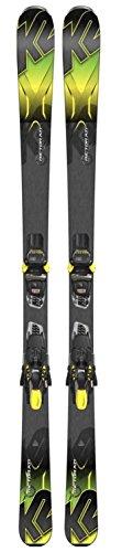 K2 Ski Rictor 80 XTI All-Terrain Rocker anthracite grün + Marker M3 11 QUIKCLIK, Größe:170
