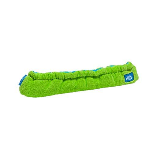 Guardog Terry Kufenschoner Doppelschoner für Eislaufschuhe, grün-blau