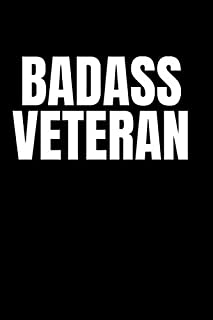 Badass Veteran: Graph & Sketch Paper Notebook - Diary Journal