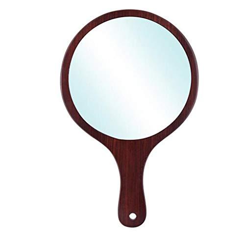 LQY Miroir de Poche, Miroir de Coiffeuse à Une Face, Miroir Compact portatif de Poche,L