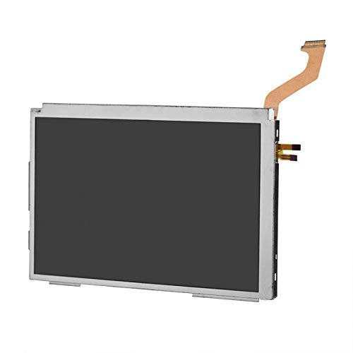Demeras Pantalla LCD LCD Pieza de Repuesto de la Pantalla LCD Superior Compatible con Juegos del Sistema 3DS XL