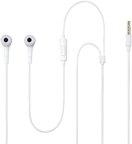 Samsung 0000437559 EHS64 Original Stereo In-Ear Kopfhörer (3,5 mm Klinkenstecker) für Samsung I9505 Galaxy S4 weiß