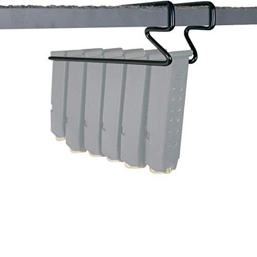 SAFETY STORAGE - Safety Gun Solution Pack of 2 Under Shelf Magazine Holder