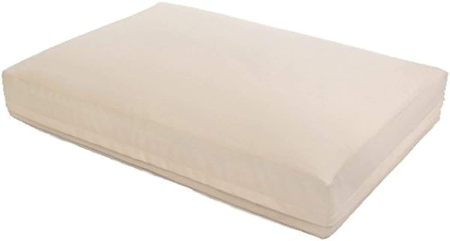 Aqua Style Dogs Water Bed, Dogs Cushion, 60 x 80 x 15 cm  Hellbeige  No Heating