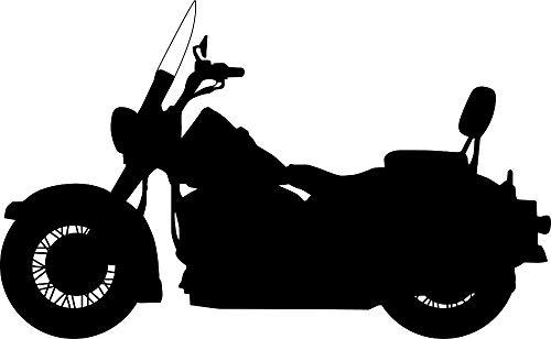 JXAA Wandaufkleber Vinylaufkleber Schlafzimmer Motorrad Kawasaki Cruiser Wandbild Poster Abnehmbare Wohnzimmer Tapete 60x99cm