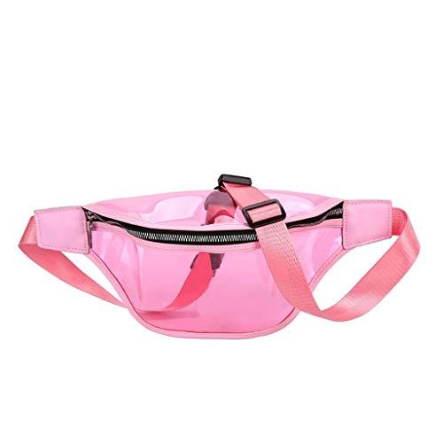 Luckycat Riñonera Deportiva para Mujer Hombre Bolso de Cintura Cangurera Running Riñoneras para Senderismo Ciclismo Bolsa de PVC transparente para teléfono bolsa de cintura riñonera bolsa de viaje