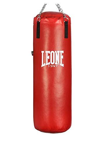 LEONE 1947 - Sacco Allenamento Made in Italy, Esclusiva Amazon – Adulto, Rosso, 30 kg