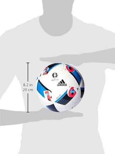 adidas Euro16 Omb - Balón para Hombre, Color Blanco/Azul, Talla 5 ...