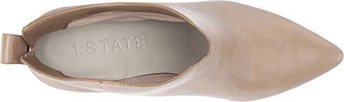1.STATE Womens 1S-Corben Leather Pointed Toe Ankle Fashion, Beige, Size 8.5