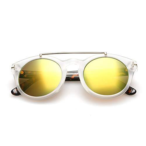 WYJW Retro zonnebril T-metalen trend cirkel AliExpress hete zonnebril vrouw 7
