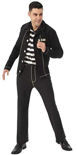 Elvis Presley Jail House Rock - Disfraz para adulto, color negro