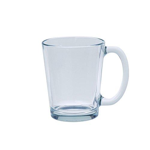Excelsa 48274 Tazza Mug Conica, Vetro, Trasparente
