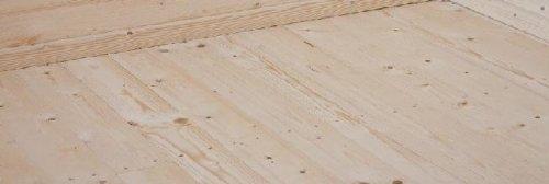 Fußboden Holz natur für Karibu Gartenhaus Sockelmaß 180x180cm