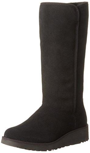 UGG W Kara Damen Stiefel Schwarz Schnür-Stiefelette Winter, Größe:EUR 37 (UK 4)