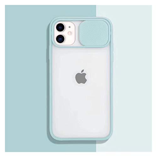 KAZOKUYiZi Cámara de Diapositivas Protector de Las Lentes Cajas del teléfono de iPhone 12 Mini 11 Pro XS MAX XR X 6 7 8 6S Plus SE 2020 Mate PC Cubierta de la Caja Fundas