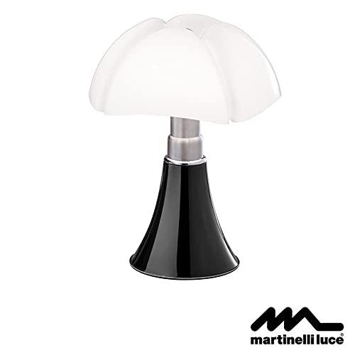 Martinelli Luce Pipistrello LED 14W Dimmerabile Lampada da Tavolo Nero