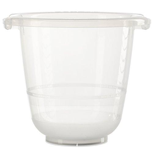 tummy tub das Original - Badeeimer kippsicher, rutschfest und schadstofffrei, transparent, für Kleinkinder
