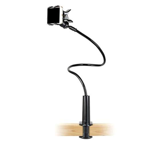 Syfinee 90cm Flexible Gooseneck Phone Holder Gooseneck Cellphone Arm Clamp for Smartphone Bedroom Desktop