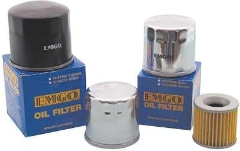 Emgo 10-26920 Black Finish Spin-On Oil Filter