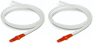 Replacement Tubing for Hygeia EnJoye Breastpump, 2 Tubes/pack in Retail Factory Sealed Package; Can Replace Hygeia Tubing with Connectors; Made by Maymom