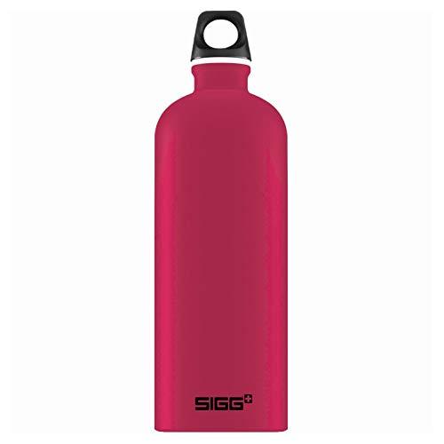 Sigg Unisex– Erwachsene Deep Magenta Touch Wasserflaschen, Pink, 1