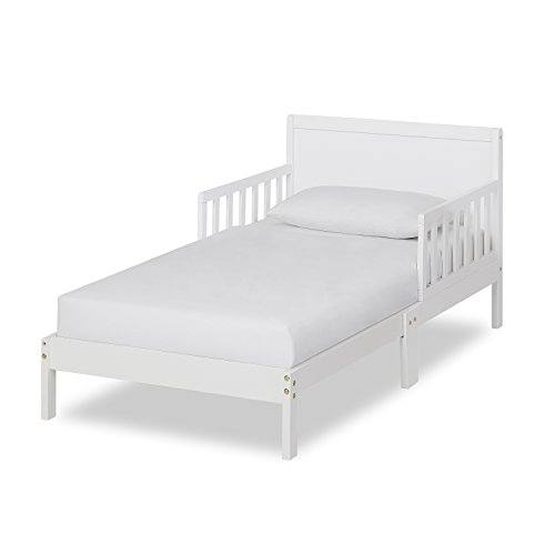 Dream On Me, Brookside Toddler Bed, White
