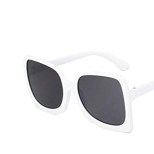 HAOMAO Gafas de Sol extragrandes de Espejo para Mujer/Hombre C6