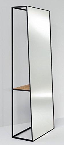 Casa Padrino Standspiegel mit Regal 65 x 32 x H. 17 cm - Designer Spiegel