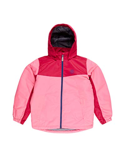 Color Kids. Gepolsterte Ski-Jacke Kelli,Air-Flo 2000, Camellia Rose, Gr. 122
