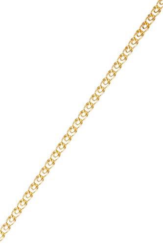 Córdoba Jewels   Pulsera en Goldfilled 14/20 con diseño Cadena Goldfilled