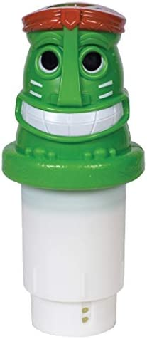 GAME Solar Light Up Tiki Pool Chlorinator 3 Tablet Chlorine Dispenser LED Lights Light Sensor product image