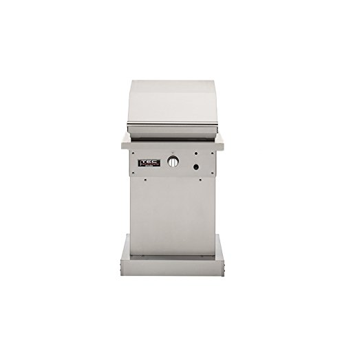 TEC Patio 1 FR Infrared Propane Gas Grill On Stainless Steel...