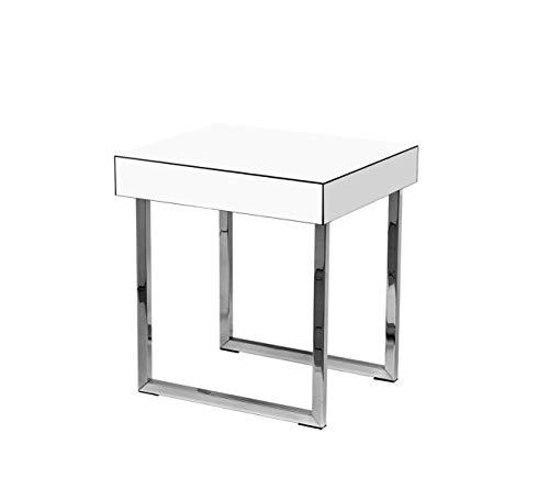 Mesa Canto Lunata P, Arte Móveis Design & Interiores, Branco
