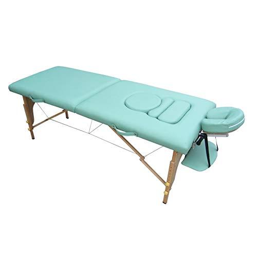 Teqler T-130408GN Mobile Massageliege für Schwangere