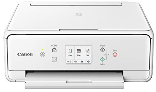 Canon PIXMA TS6220 Wireless All in One Printer with Mobile Printing, White Photo #2