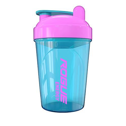 Rogue Energy Shaker Bottle, 16-Ounce, 500ml, BPA Free, Dishwasher Safe, Blue & Pink (Unicorn Edition)