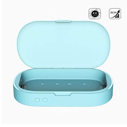 Cell Phone Sanitizer Portable UV-licht sterilisator met USB opladen Aromatherapie Functie Disinfector Box for telefoon, horloges, Makeup Tools, tandenborstel